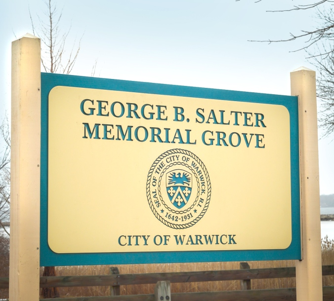 Salter Grove Sign