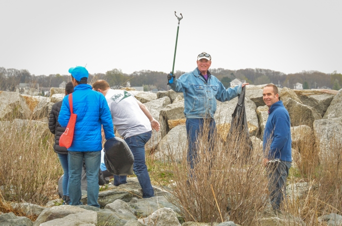 Shoreline Cleanup April 23-7
