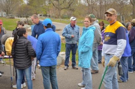 Shoreline Cleanup April 23