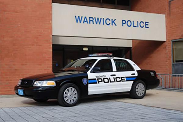 Warwick police cruiser