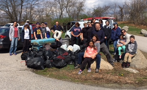 Salter Grove Cleanup 4-29-18